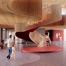 γραφείο 3XN για το Παιδικό Νοσοκομείο της Κοπεγχάγης