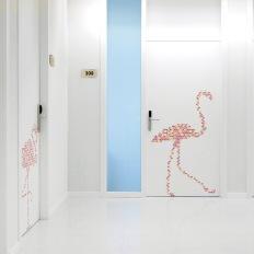 Το γραφείο RAI PINTO STUDIO (space design) & ARAUNA STUDIO (graphic design) για το SJD Παιδικό Νοσοκομείο της Βαρκελώνης