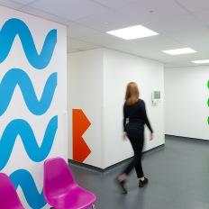 το Studio Kaptiza στο Ambrose King Sexual Health Centre στο Βασιλικό νοσοκομείο του Λονδίνου